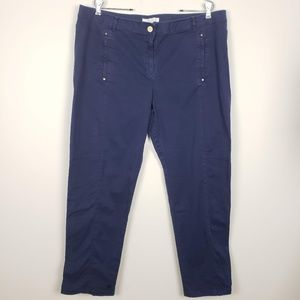 Chico's Ankle Pants Blue Size 3 (Size 16)